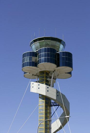 机场指挥塔台