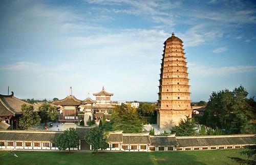 法门寺与大雁塔