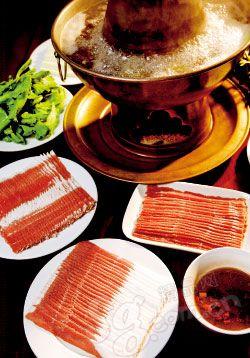 洪运轩饭庄的羊肉品种丰富
