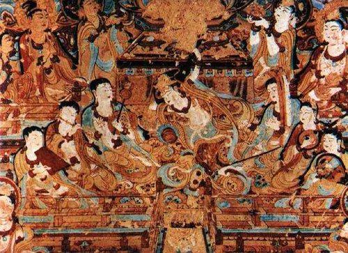 莫高窟的唐代舞乐壁画