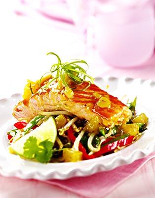 法餐三文鱼