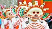 看斗牛吹芦笙 跟少数民族同胞过节去