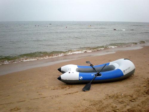 在翡翠岛划艇非常有趣