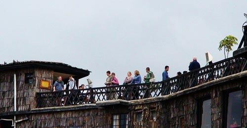 古朴的建筑,我们在肯尼亚找到久违的原始感受