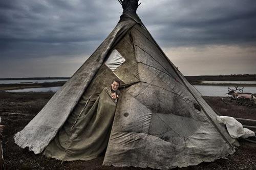 古代帐篷简笔画