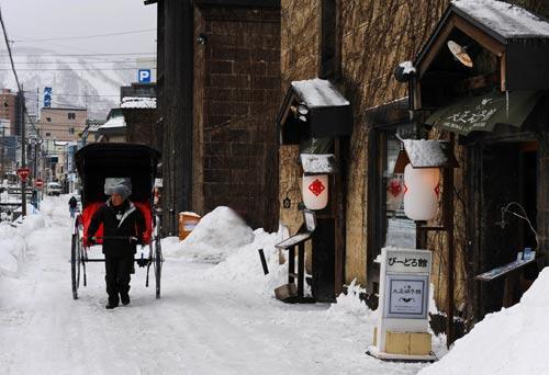 冬日访小樽