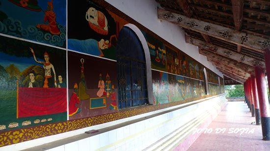 寺院内的壁画