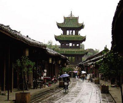 阆中古镇风景