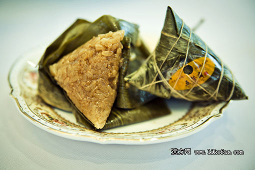 五芳斋美味大肉粽 摄影:小林