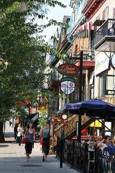 魁北克城 图片来源:加拿大旅游局