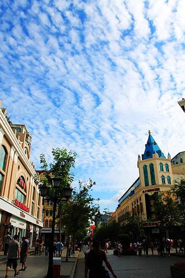 新浪旅游配图:哈尔滨中央大街 来源:原平林 新浪博客