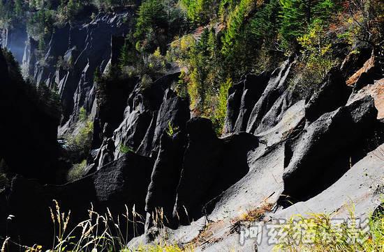 长白山大峡谷,一个呈现大自然想象力的原始世界