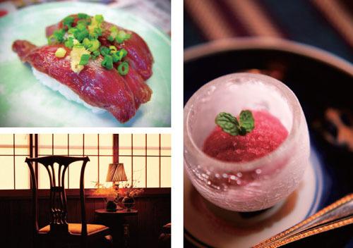 品味函馆,要慢,要细,无论是马肉寿司还是传统茶点,无不浸出日本旧日风尚