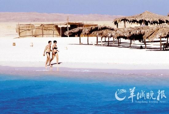 埃及霍赫台达红海风光(严向群)