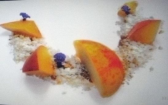 NATURA餐厅的甜品系列