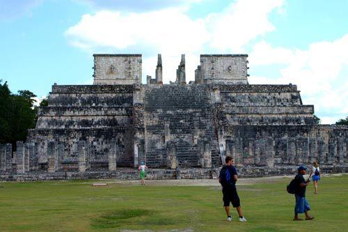 玛雅人的祭坛