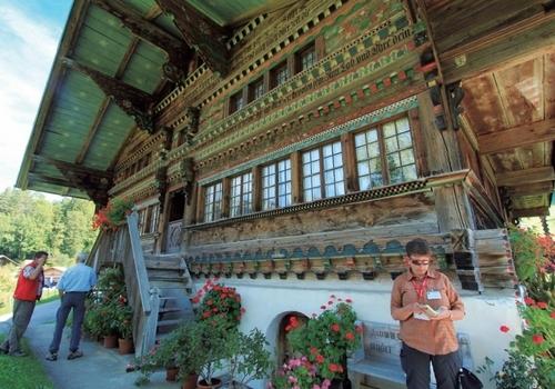 瑞士传统木屋
