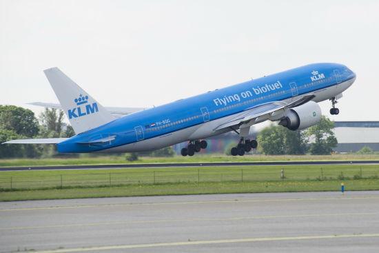 荷兰皇家航空公司生物燃料项目取得新进展