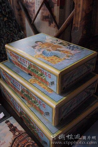 老上海包装的糖果(程慧敏摄)