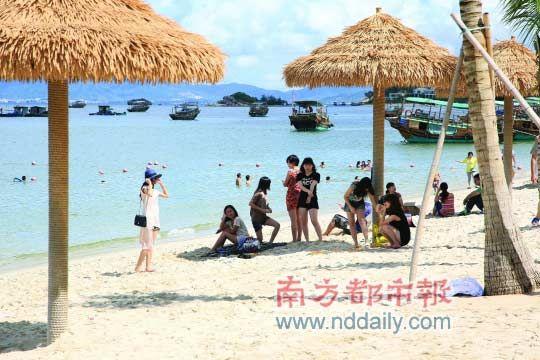 广东巽寮 静谧的千年小渔村