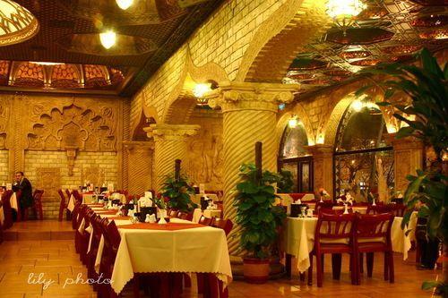 一千一夜餐厅的异域风情环境 来源:刘立