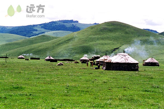 草原敖包 摄影:白显林