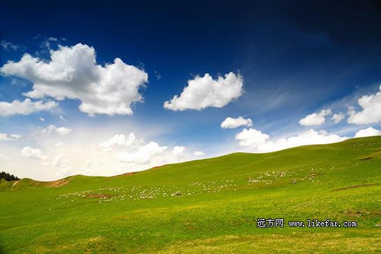 蓝天下的风景 作者:mersea