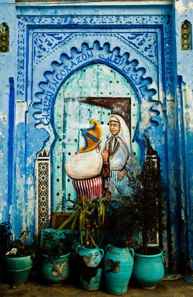 摩洛哥舍夫沙万 精致蓝色小镇的慢生活