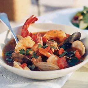 马赛特产的杂鱼汤