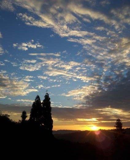 1.碧峰峡; 碧峰峡风景; 碧峰峡日出云彩风景图片