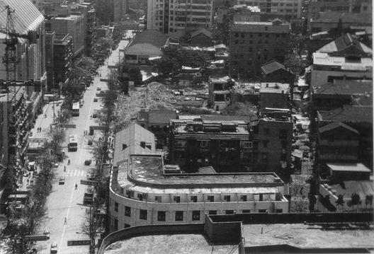 陕西路下段及过街楼