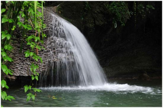 溪水清澈,四季飞瀑 图片来源: 雪莲 新浪博客