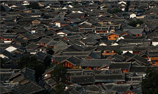 俯览古城 (图片来源:百度)
