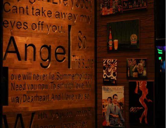独特的酒吧装饰 图片来源:爱斯基摩人 新浪博客