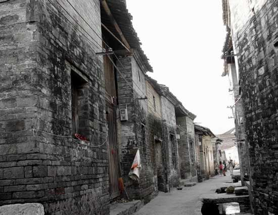 古朴的街道 图片来源: 小愚 新浪博客