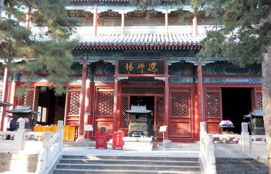 寺院建筑格局独特