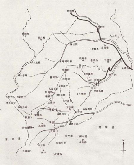 玉屏县旅游地图