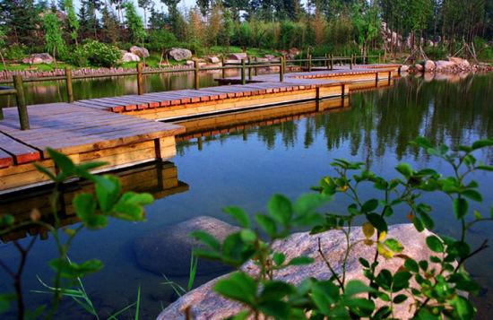 寿光生态农业观光园 享受生态之美