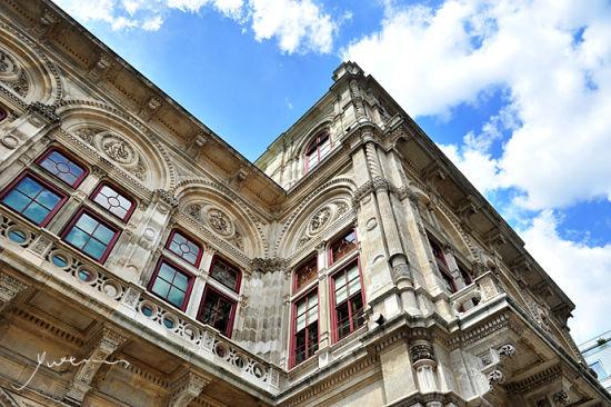 维也纳歌剧院 国家歌剧院屋顶雕塑