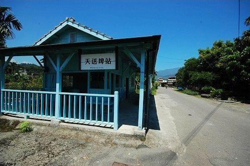 天送埤火车站木结构建筑