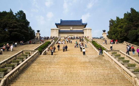 南京中山陵开放时间图片