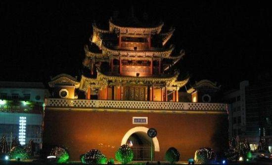 宁波鼓楼夜景