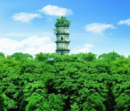 人文自然景观_【重庆园博园是一个集自然景观和人文景观为一