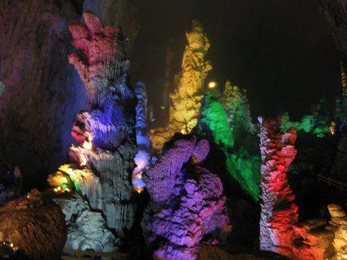 奇妙的岩溶地貌景观
