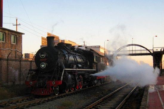 再见蒸汽机车铁岭调兵山铁路怀旧之旅