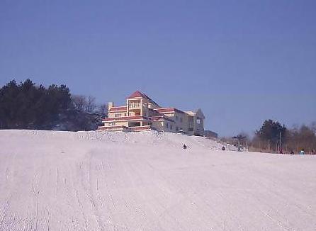 二龙山龙珠滑雪场   龙珠滑雪场位于二龙山风景区,距哈尔滨东郊60公里