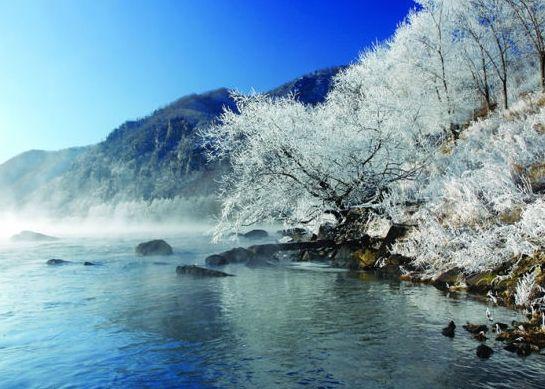 林口百里雾凇谷