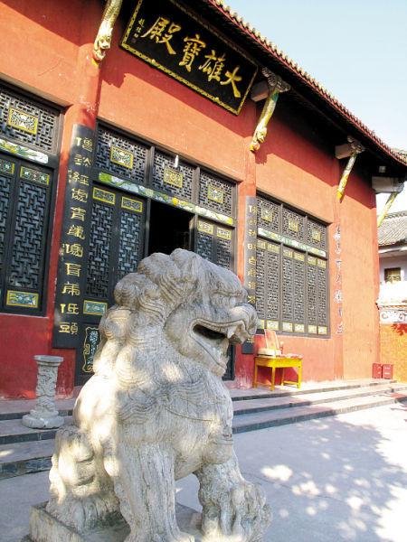 佛教禅宗的发祥地―三祖寺 东方IC/供图