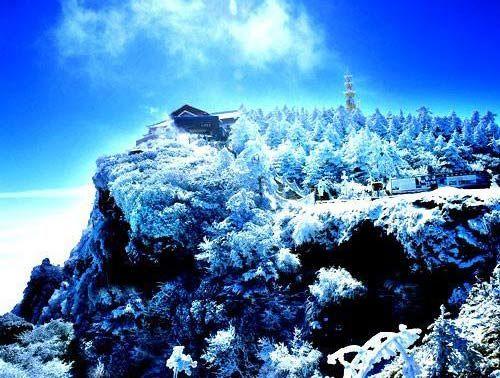 冬游峨眉山
