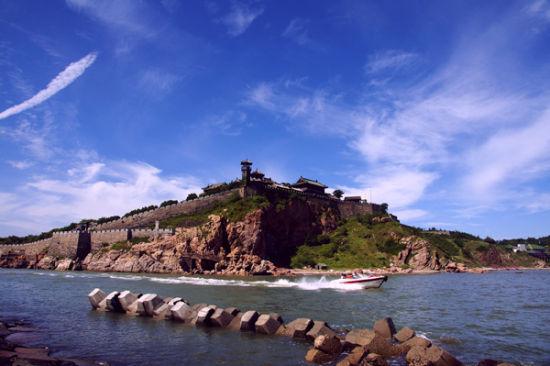 蓬莱旅游景点蓬莱仙山风光-山东最美县城之蓬莱